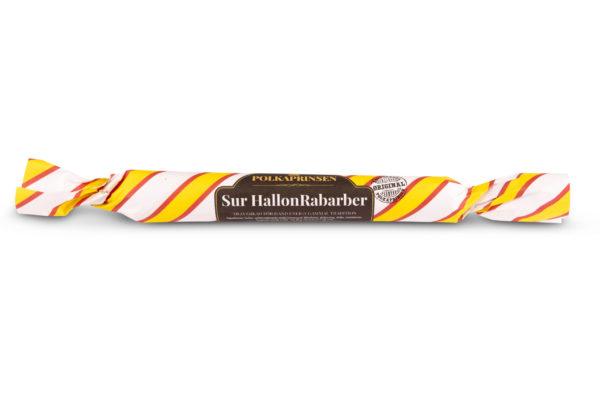 Sur HallonRabarber polkagris